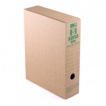 Sona-Box, braun L (Din A4)